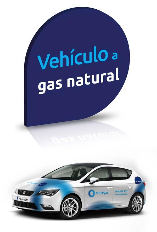 ibilgailuetarako gas naturalari